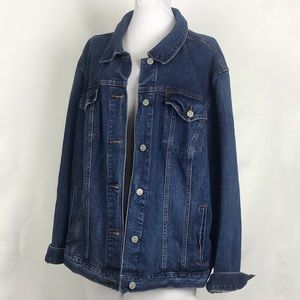 Loft Plus Denim Jean Jacket Size 24